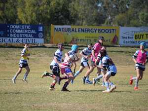 Teams go head to head at the junior rugby league