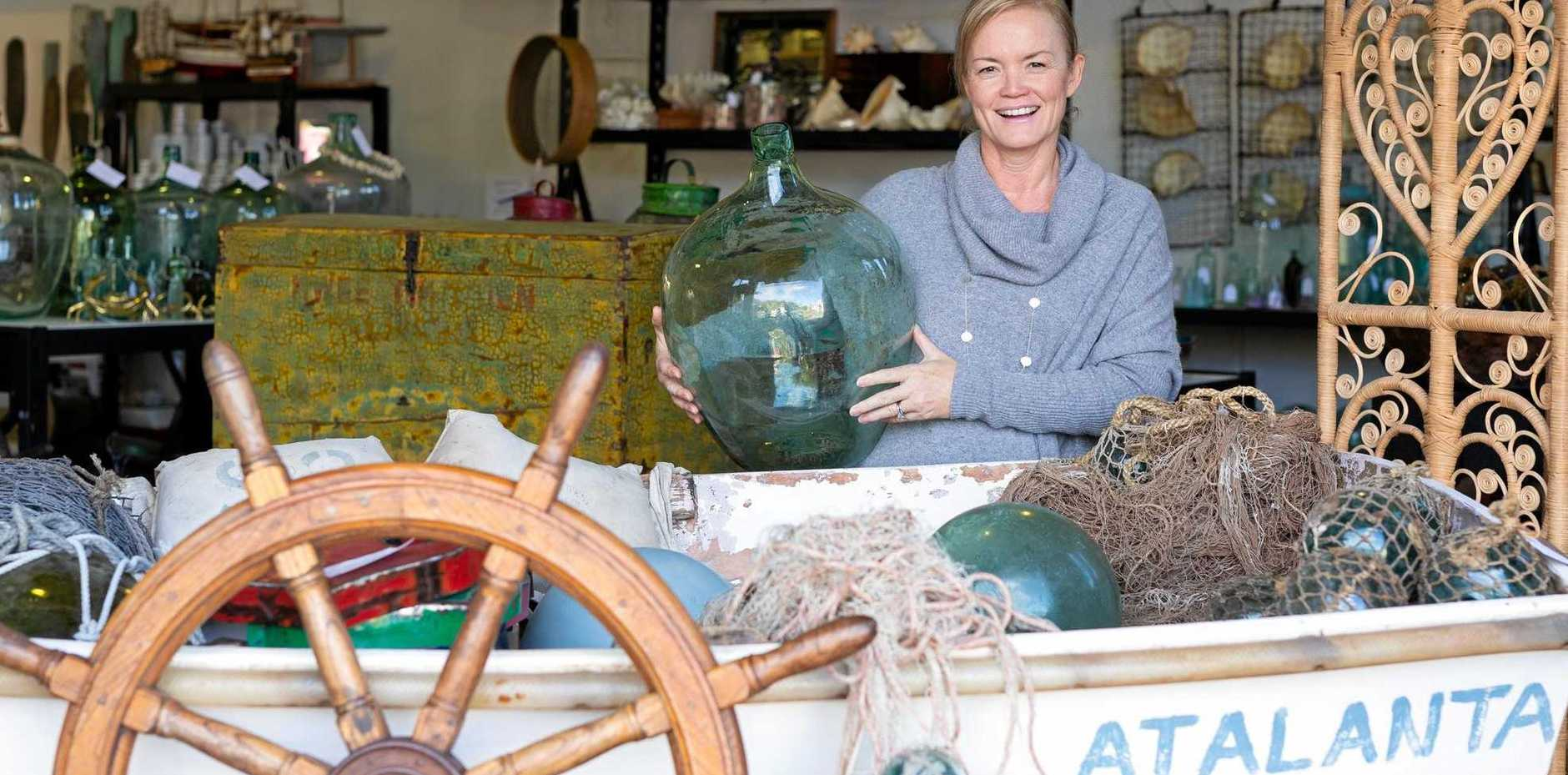 UPCYCLE: Coastal Vintage's Sally Oulton talks coastal charm and gives her best winter home decorating tips.