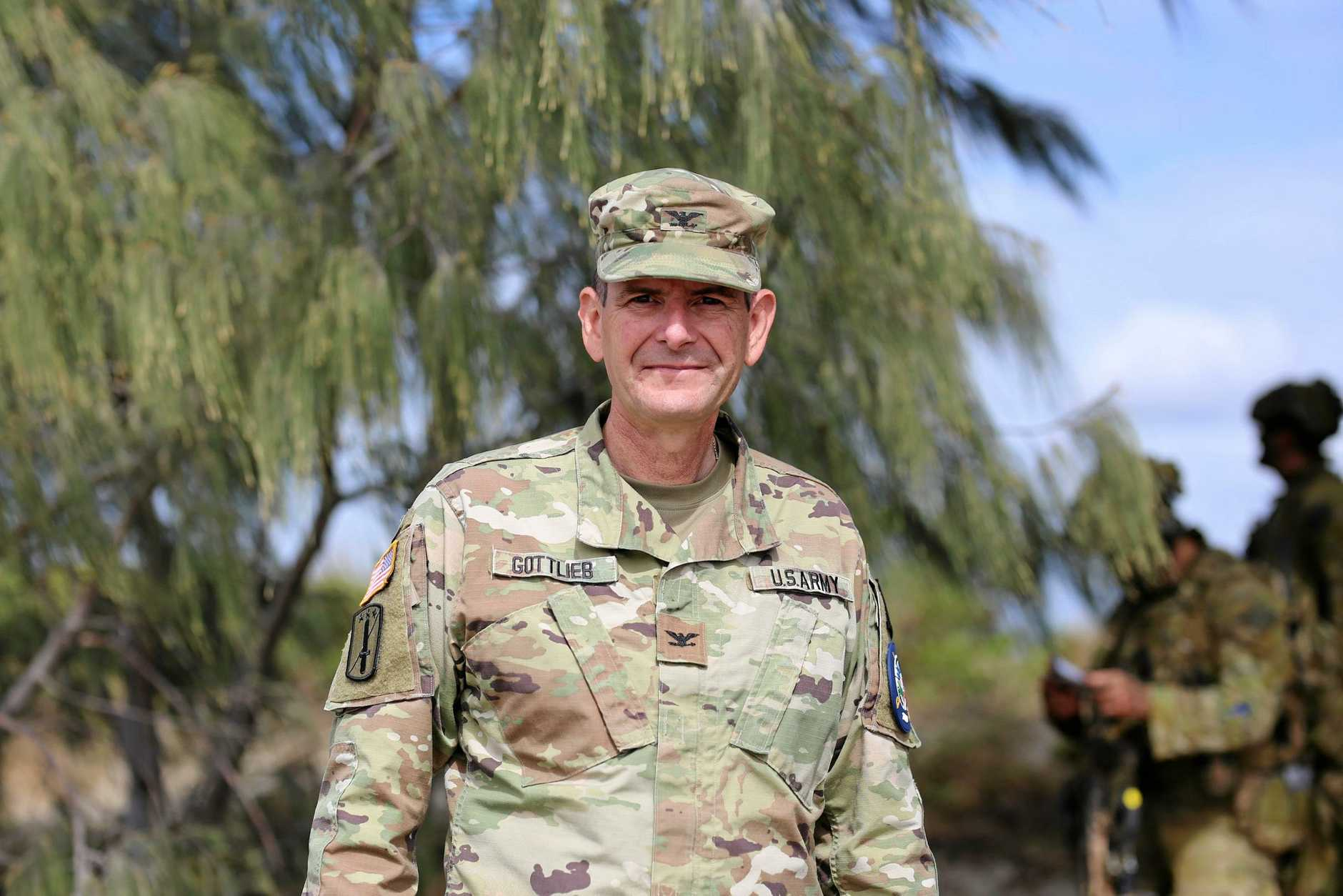 SUCCESS: US Colonel Jeffrey Gottlieb said that the Bowen training exercise has been a great success.