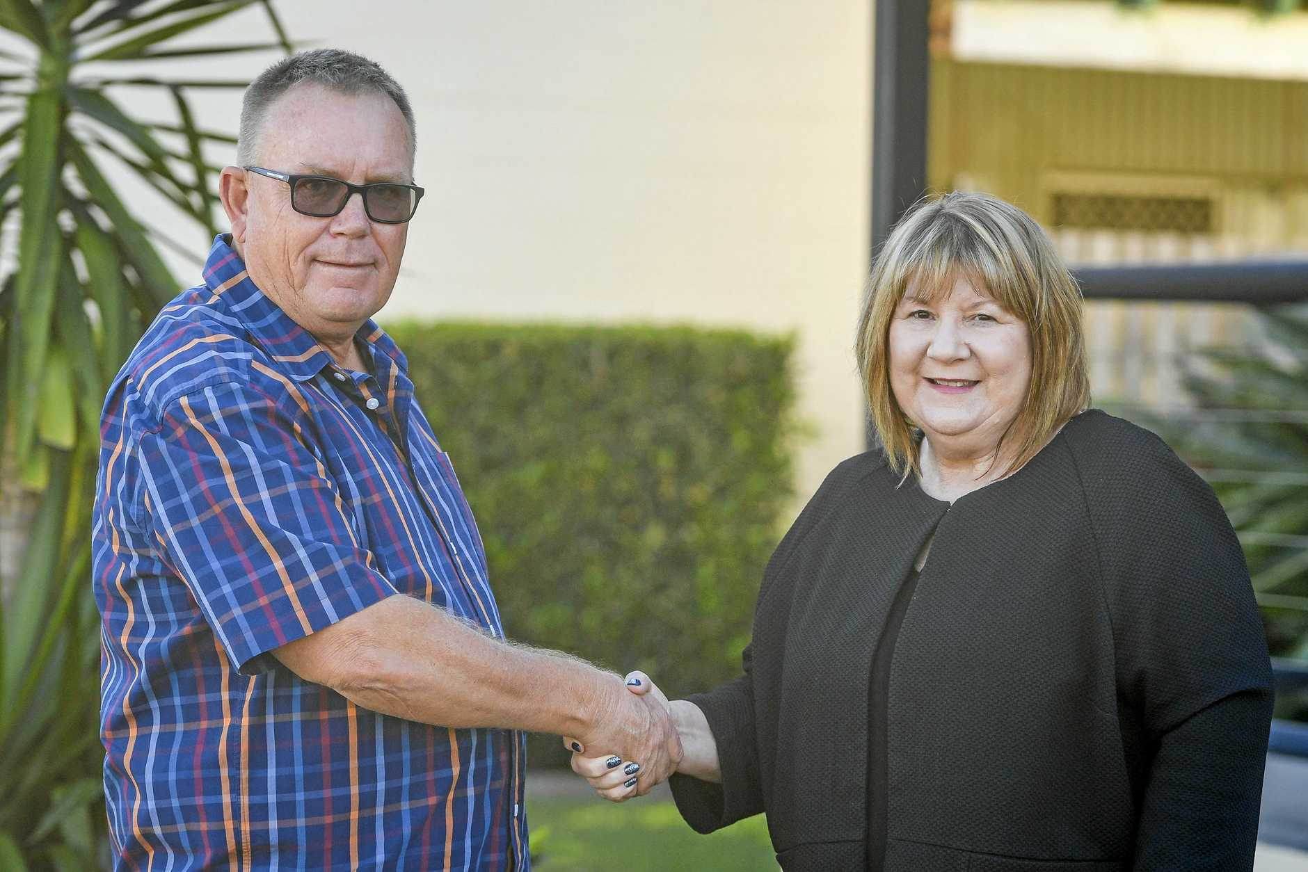 PASSIONATE ADVOCATE: Gladstone Area Promotion Development Limited board chairperson Leigh Zimmerlie welcomes new GAPDL CEO Gus Stedman.