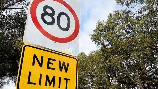 From July 28, the speed limit from Tewantin to Cooroy will be reduced to 80km/h.