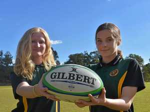 James Nash girls team's biggest strength in rugby comp