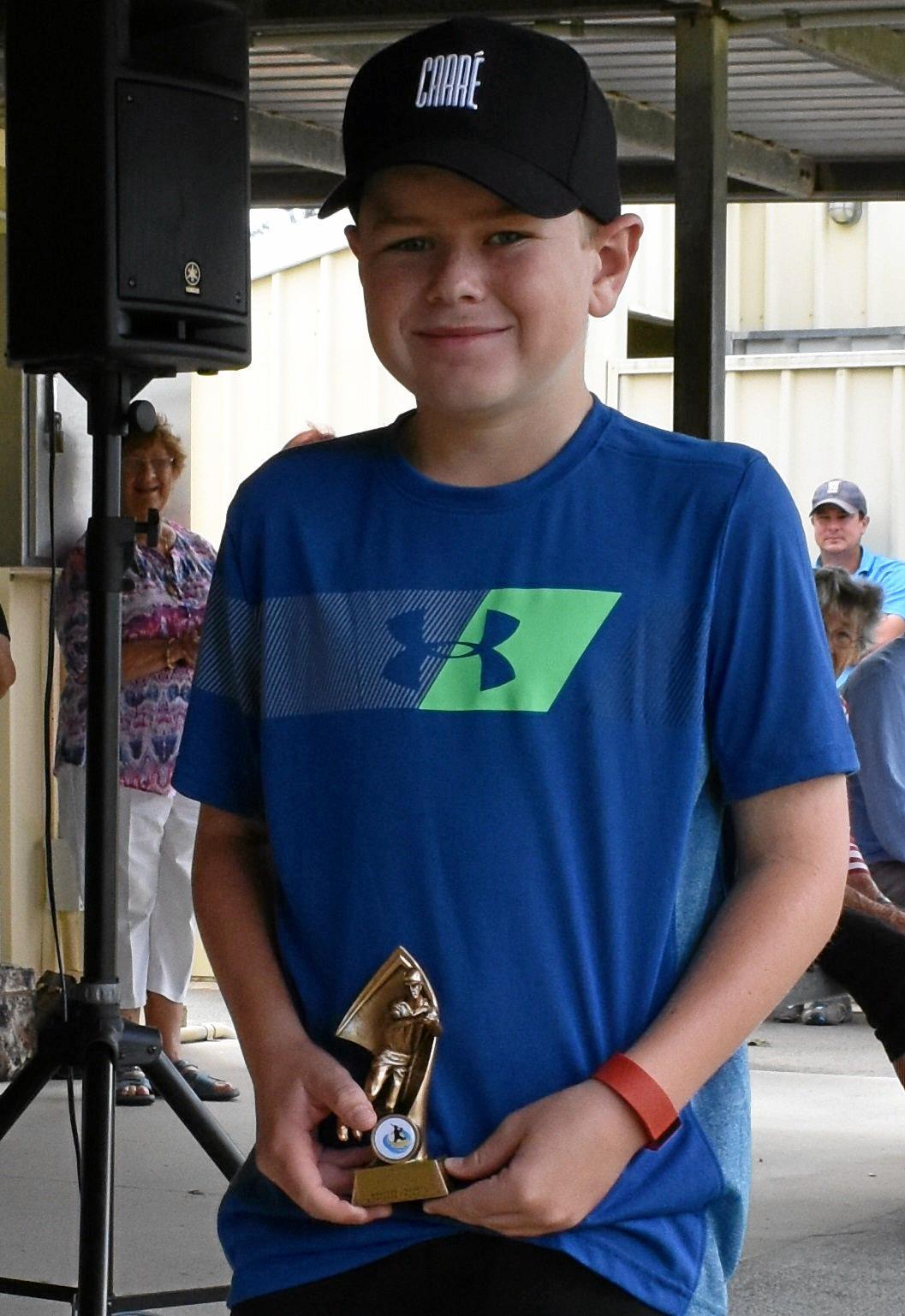 Best Fielder award for the Under 12s was won by Brayden Lindsay.