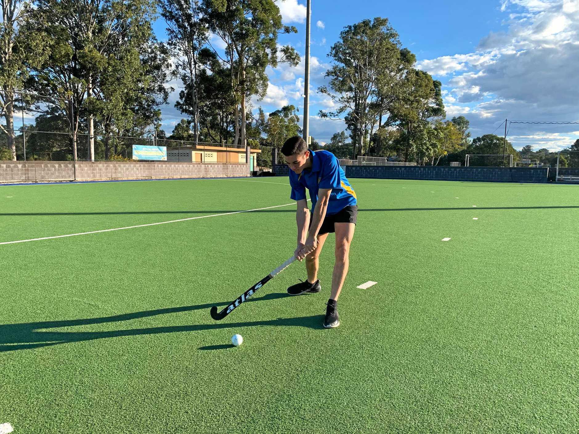 Gympie hockey - Matt Browne.