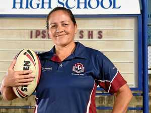 ISHS teacher puts name to award
