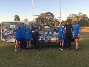TALENT SEARCH: Rugby Australia greats visit Woorabinda