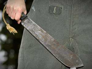 Man armed with machete was 'glad police had stopped him'