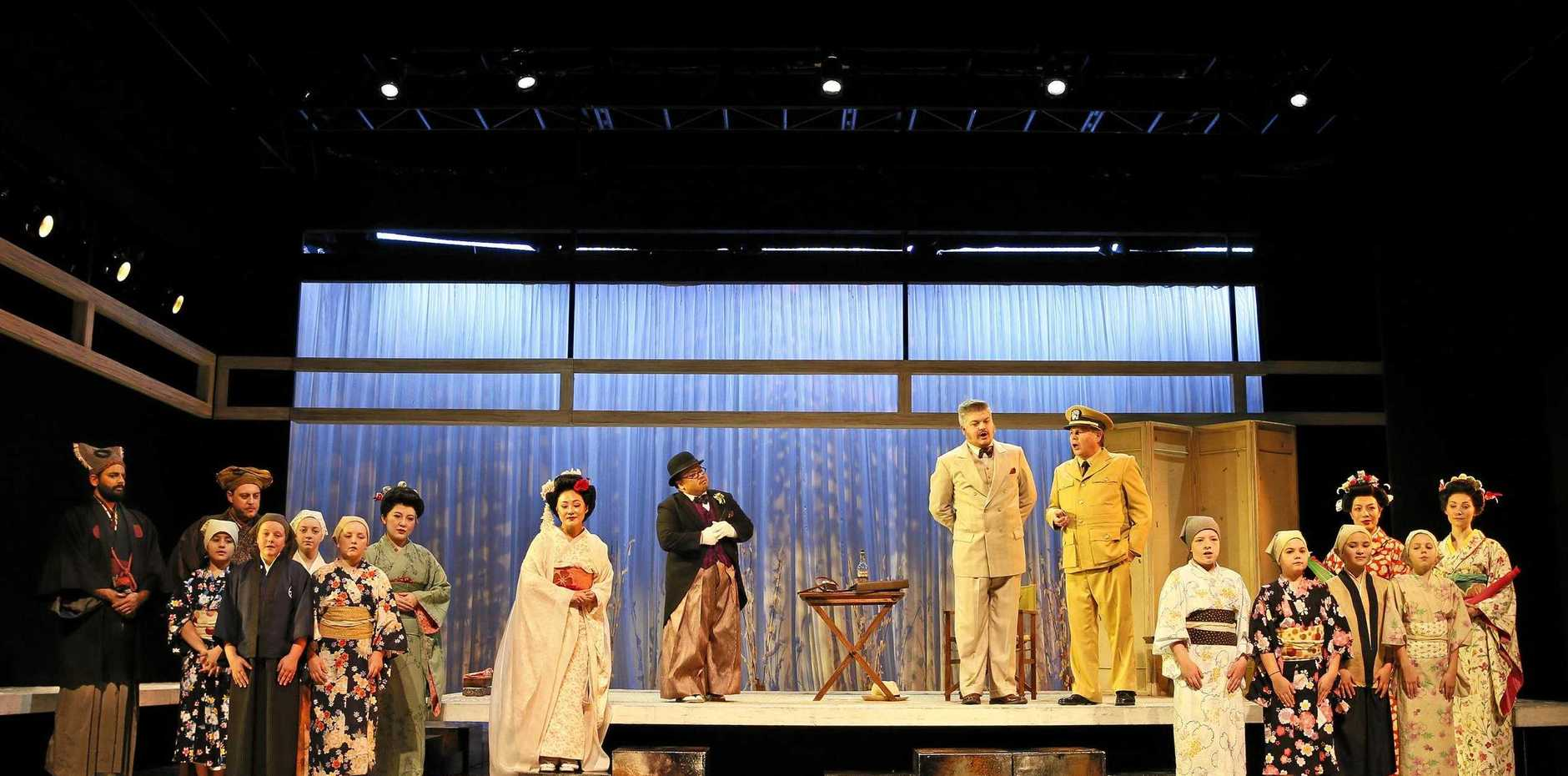 Madama Butterfly will visit Gladstone Entertainment Convention Centre on Thursday night.