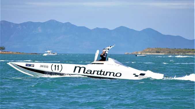 WET AND WILD: Bowen Offshore Superboats make a splash