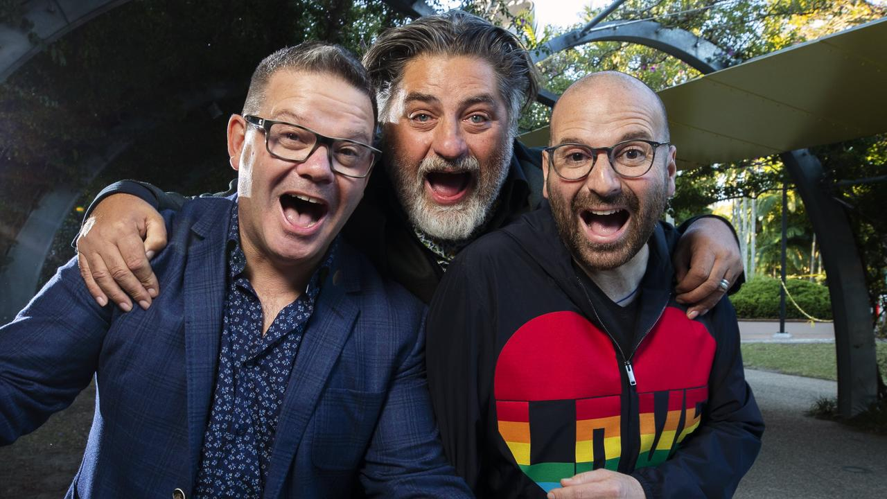 MasterChef Judges Gary Mehigan, Matt Preston and George Calombaris won't continue on the show. Picture: Lachie