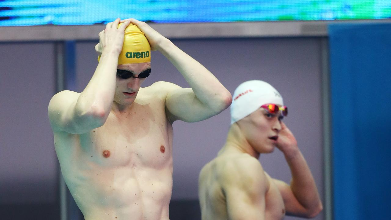 Mack Horton's much-anticipated clash with Sun Yang in the 800m freestyle will not eventuate.