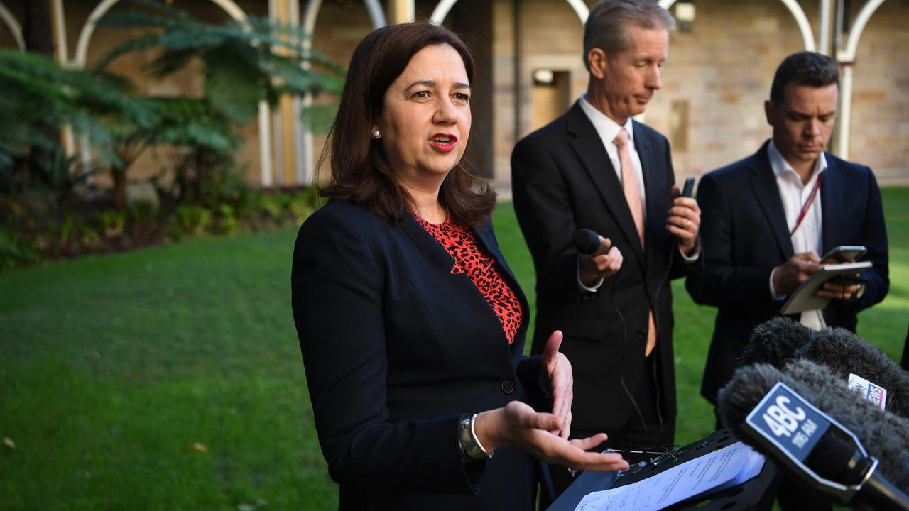 Queensland Premier Annastacia Palaszczuk. Picture: AAP Image/Dan Peled