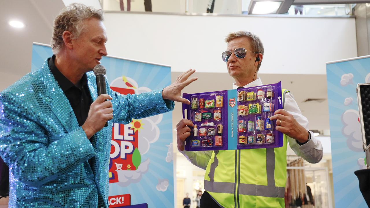 Coles has released a new collection of 30 mini collectables of iconic supermarket products. Picture: Hanna Lassen/Getty Images