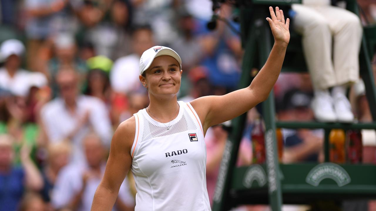 World No.1 Ash Barty will lead the charge. Picture: Getty