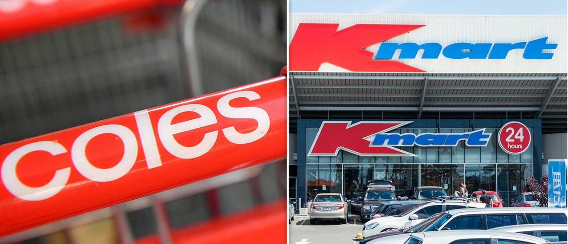 Coles takes on kmart in new offer