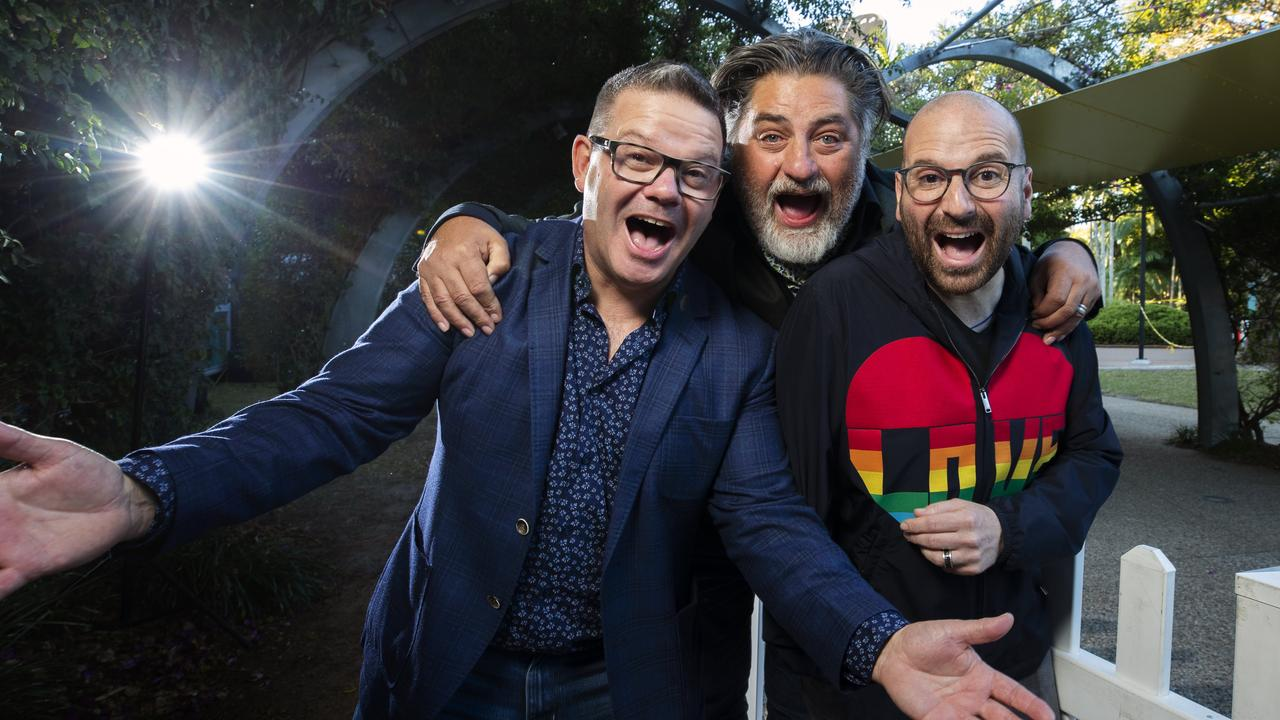 MasterChef Judges Gary Mehigan, Matt Preston and George Calombaris. Picture: Lachie Millard.