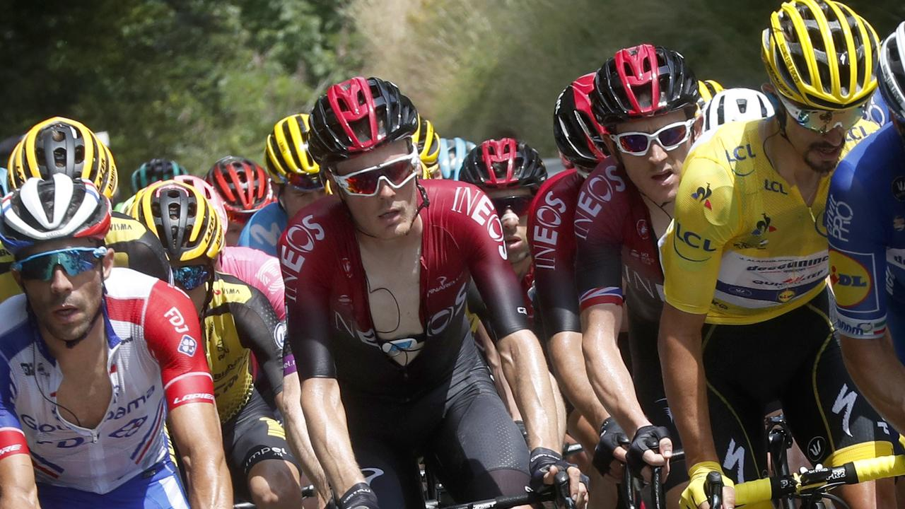 The Tour De France is set for a thrilling finish in the Alps. (AP Photo/Thibault Camus)