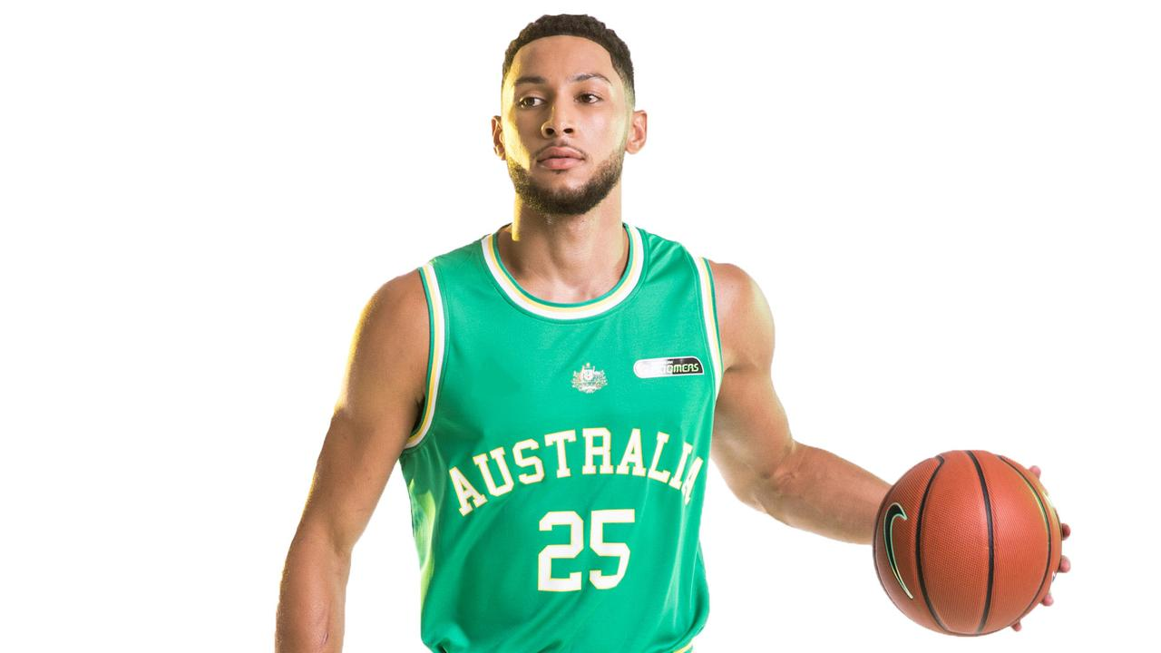 Many experts believe gold is a reality with Simmons leading the Boomers.