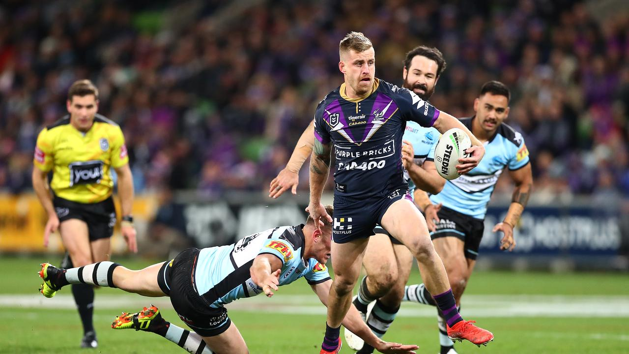 Cameron Munster returns for Melbourne. Picture: Kelly Defina