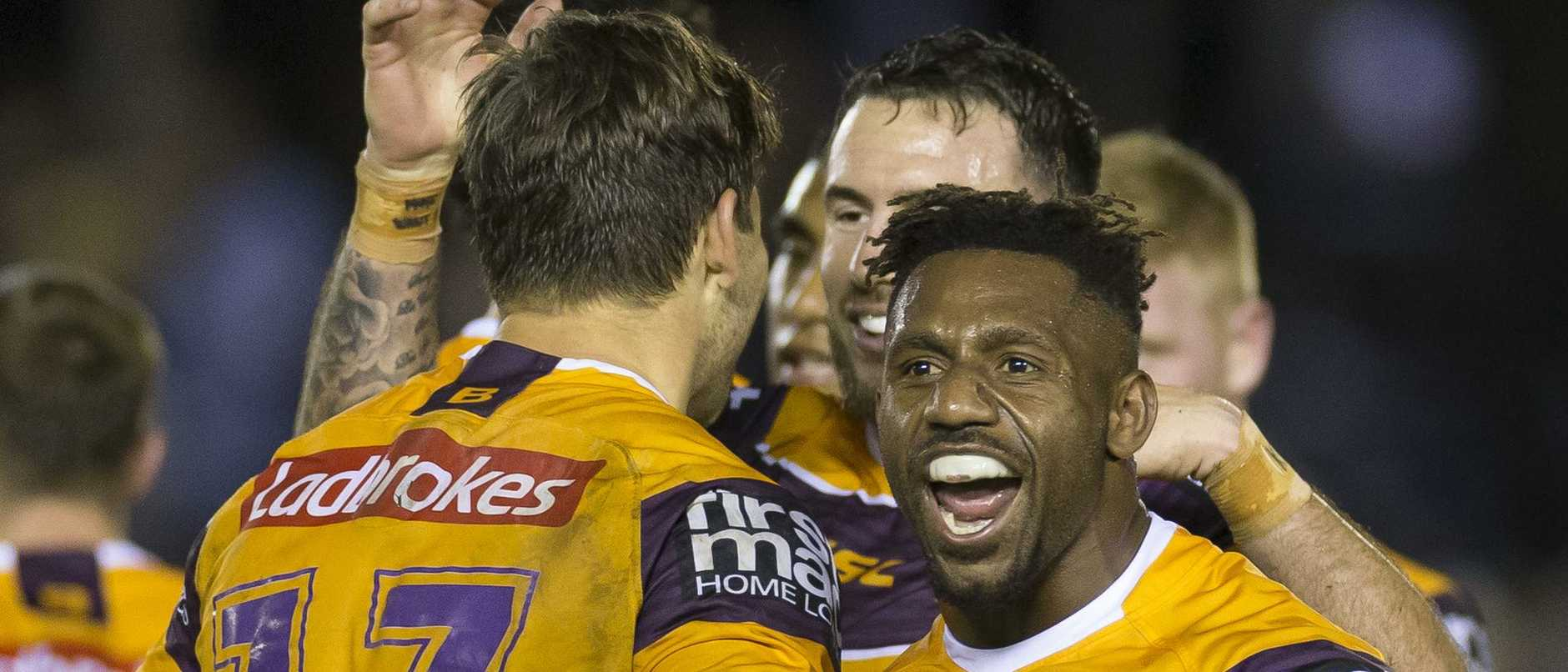James Segeyaro is set to extend his stay at the Broncos. Picture: Craig Golding