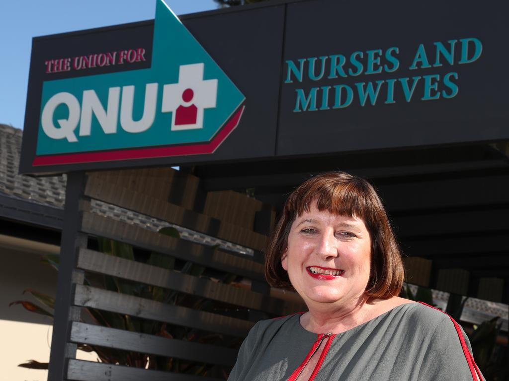 Queensland Nurses and Midwives' Union secretary Beth Mohle. Picture: Regi Varghese