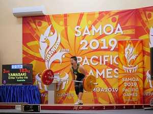 Three gold medals help Aussie flag-bearer's Olympic bid