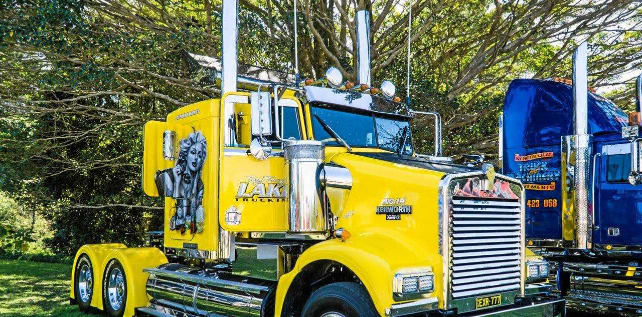 FANTASTIC RIGS: See all of the great rigs like this one at the Gold Coast Truck, Car and Bike Show.