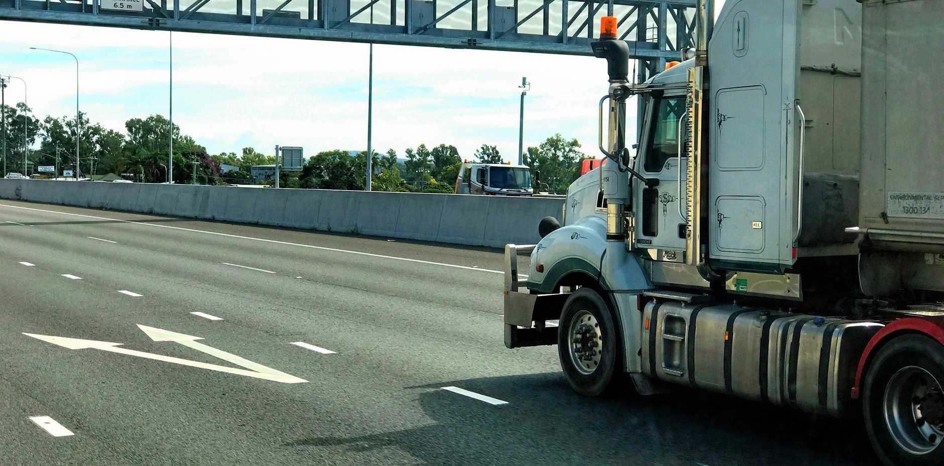 Truck, highway, generic, heavy vehicle, file photo