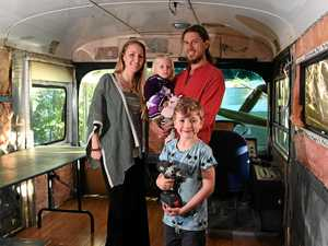 Family dare to dream living in a roving home