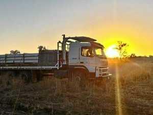 Truck stolen