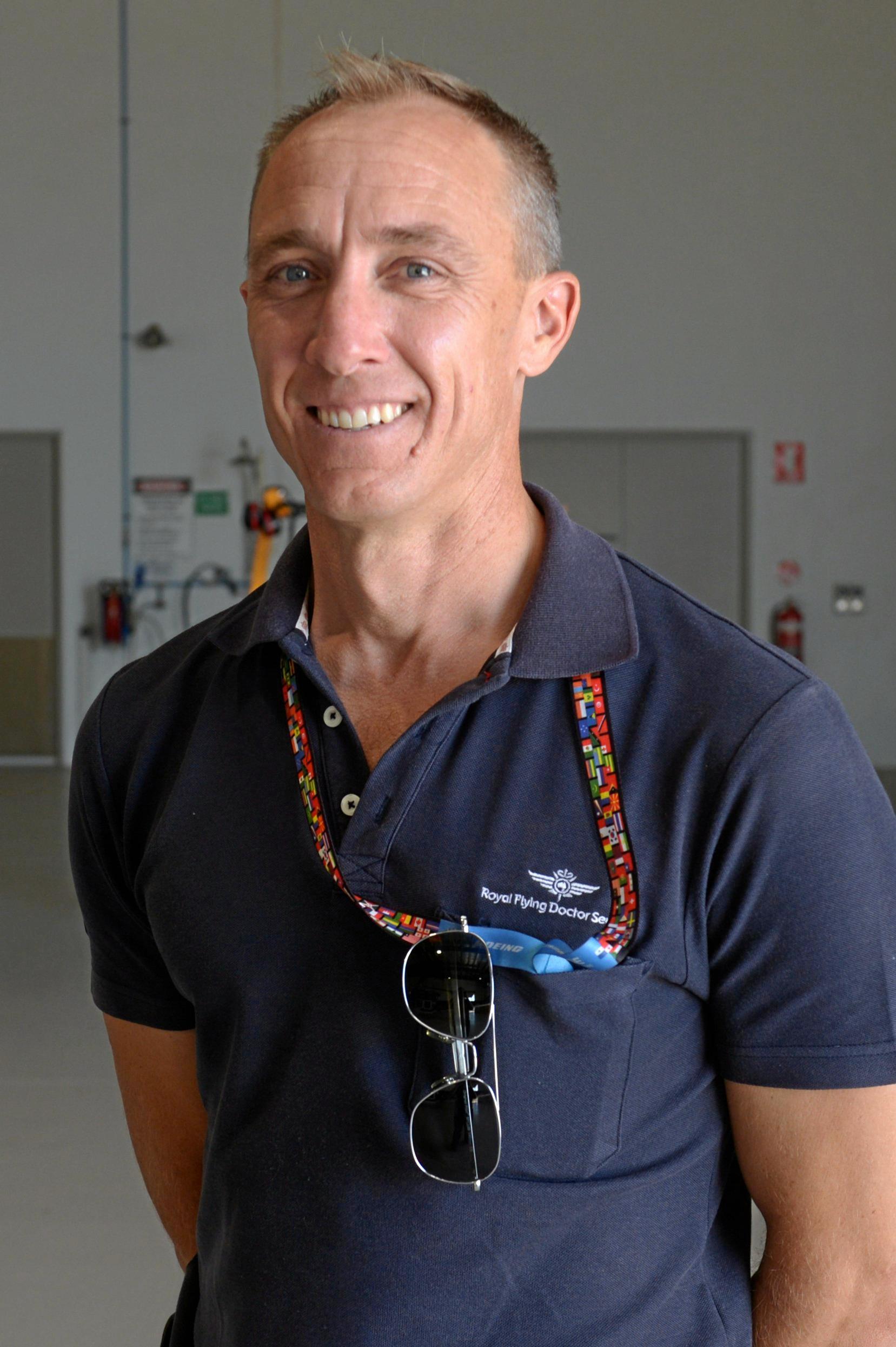 James Balharry, RFDS pilot