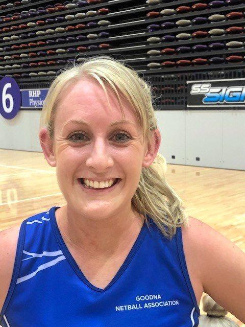 Goodna Sapphires netballer Angela Ray.
