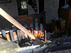One person hospitalised in Valley house fire