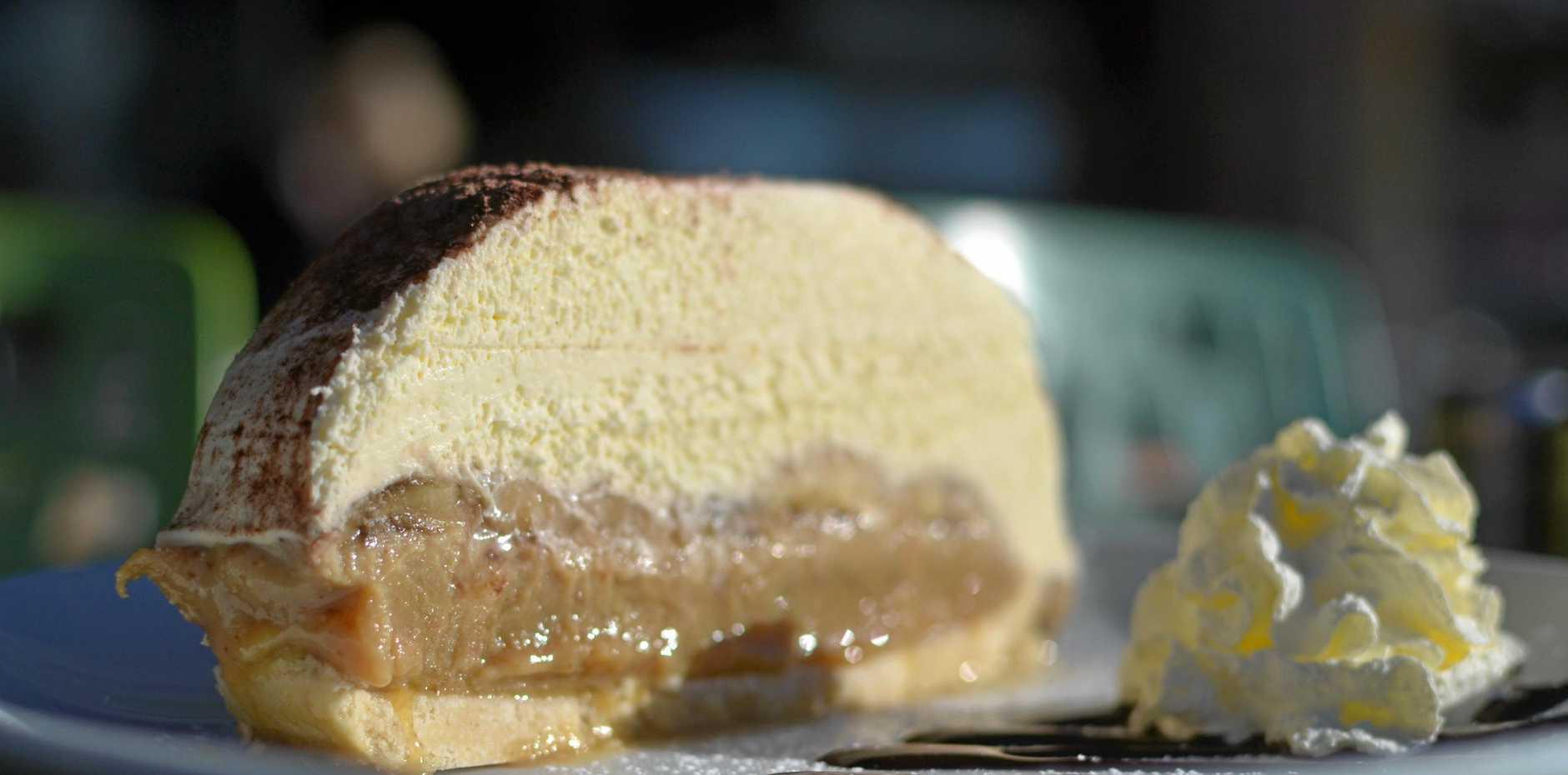 SLICE OF HEAVEN: Belle Vue's famous banoffee pie.