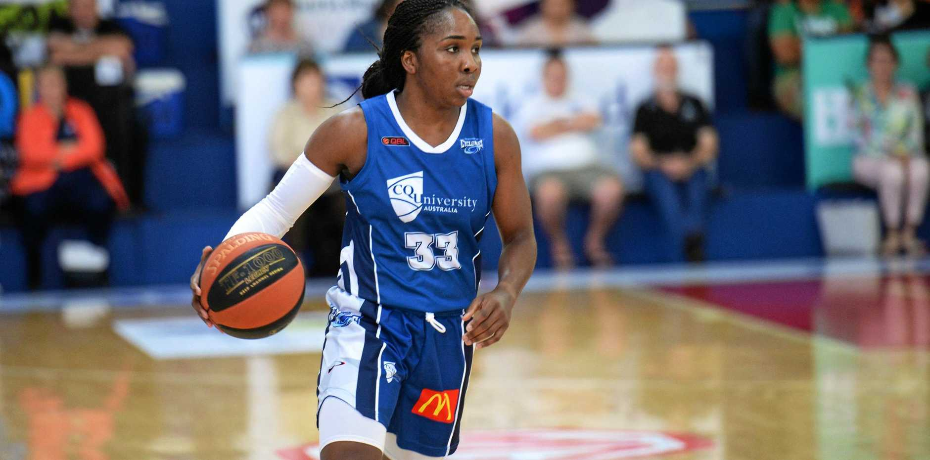 Basketball: Cyclones Jessica Thomas said the team is preparing to take down ladder leaders, Brisbane Capitals, this weekend.