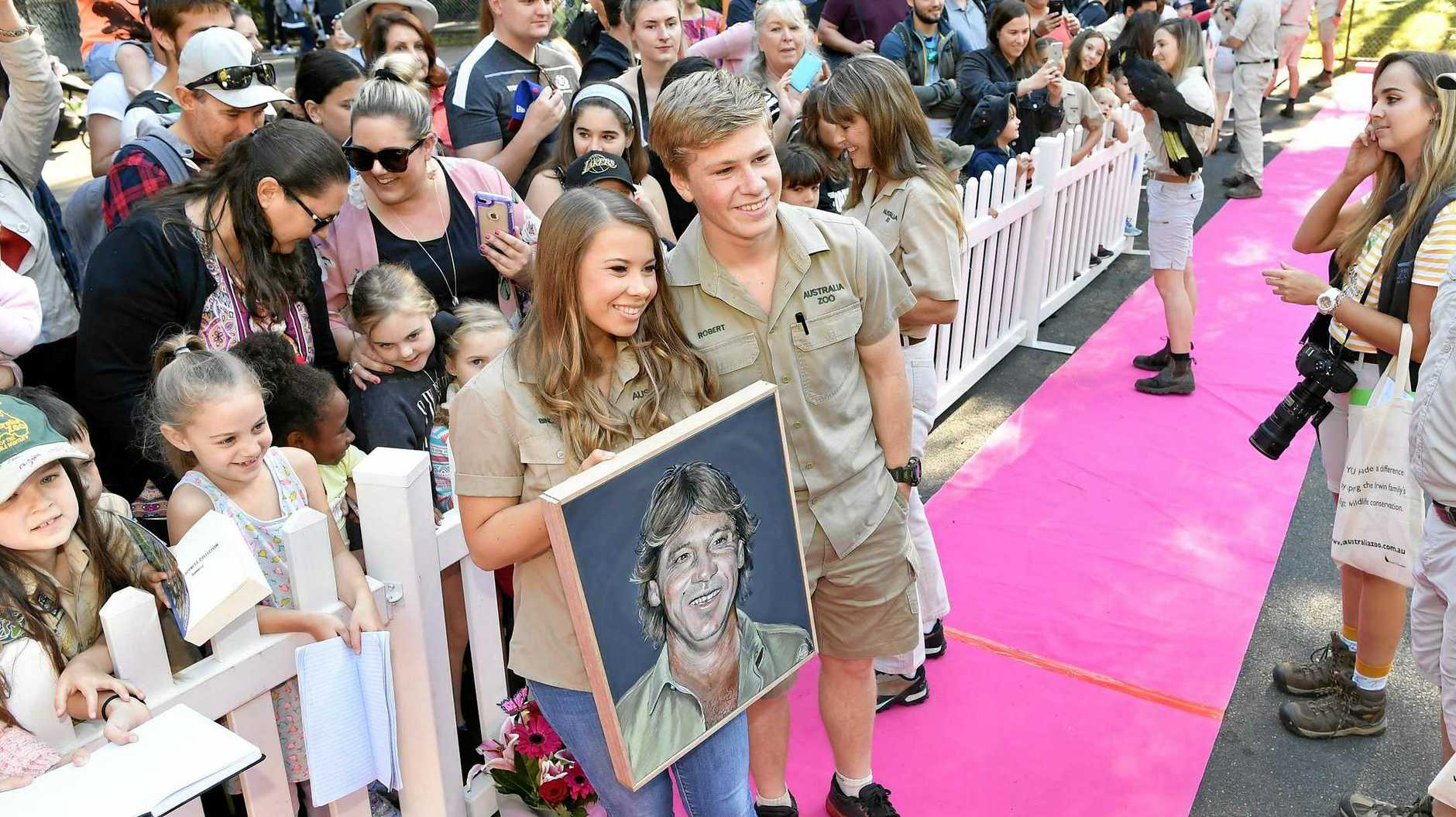 HAPPY BIRTHDAY: Celabrations at Australia Zoo as Bindi Irwin turns 21.