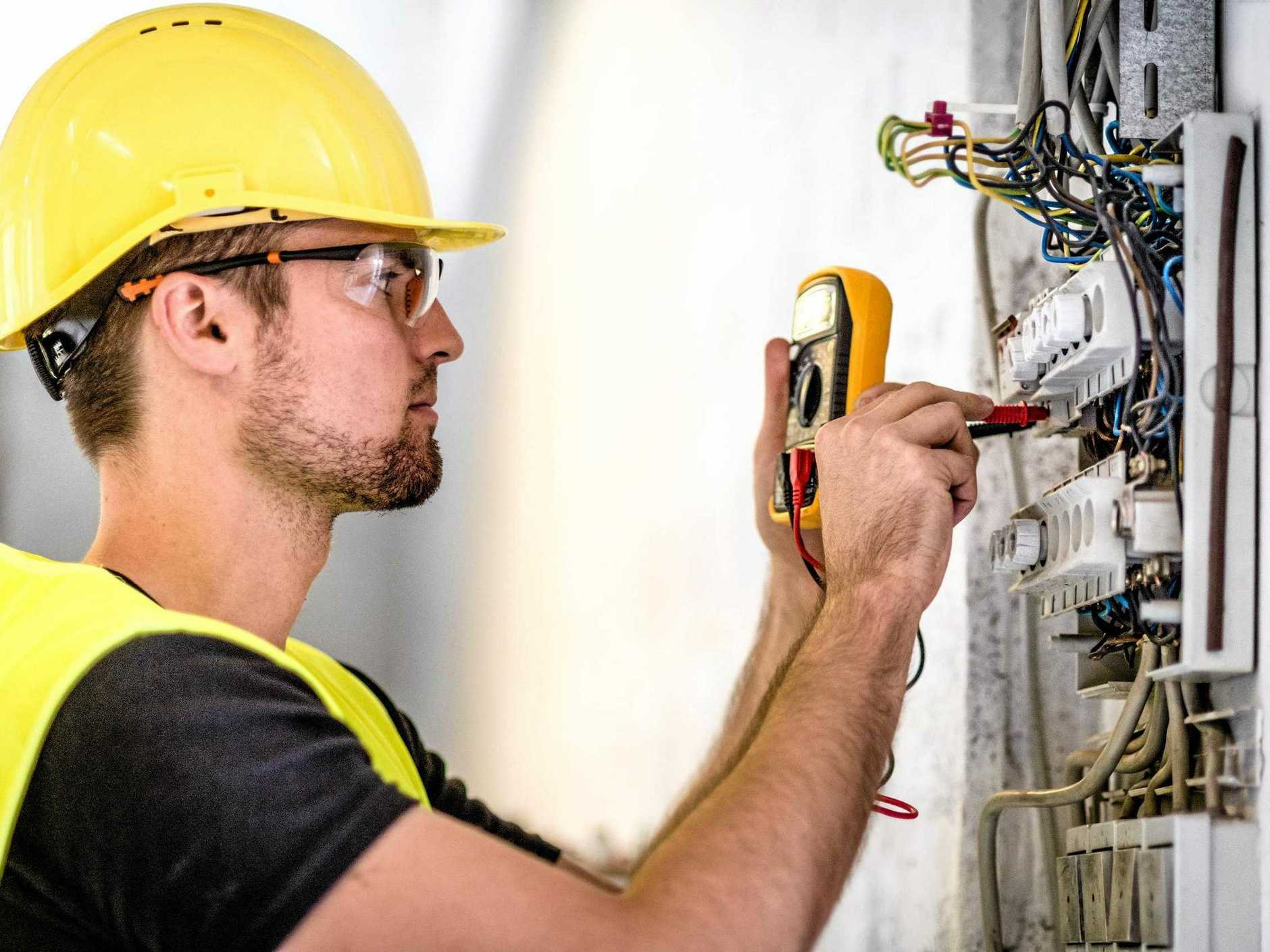 Office of Fair Trading data shows electricians are the most complained about tradies in Queensland.