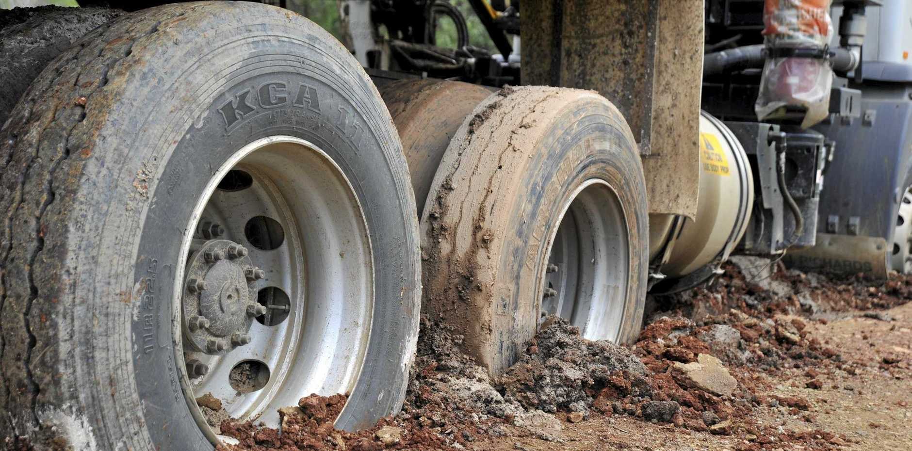 MUDDY ROADS: Lockyer Valley Regional Council will begin fining farms that don't clean up mud they leave on public roads.