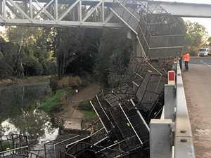 Cane train de-railed on bridge near Bundaberg