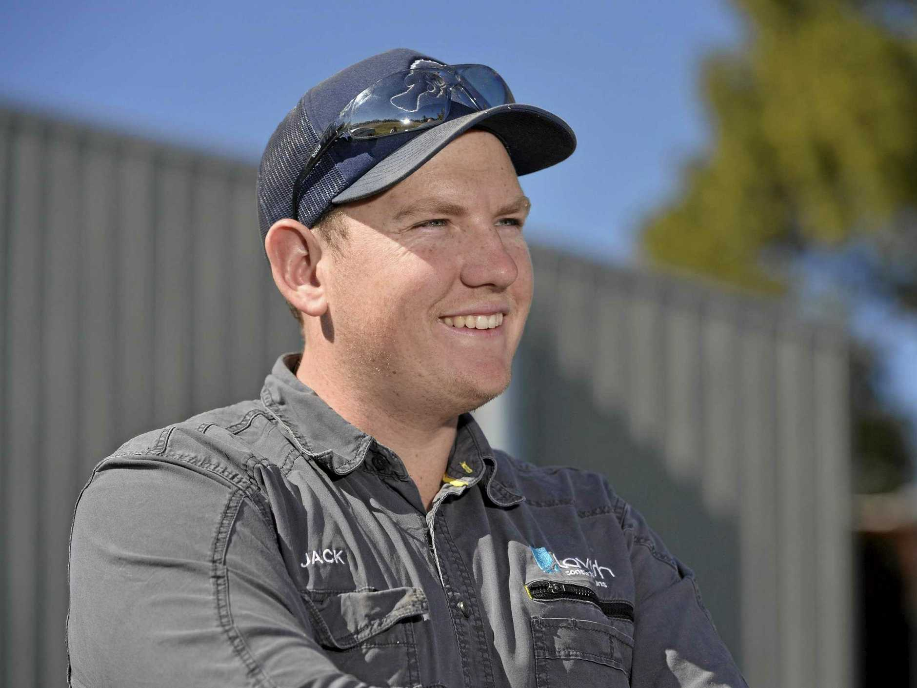 HARD WORKER: Jack Vonhoff of Lavish Constructions was named Apprentice of the Year at the Master Builders Queensland Downs and Western Housing and Construction Awards.