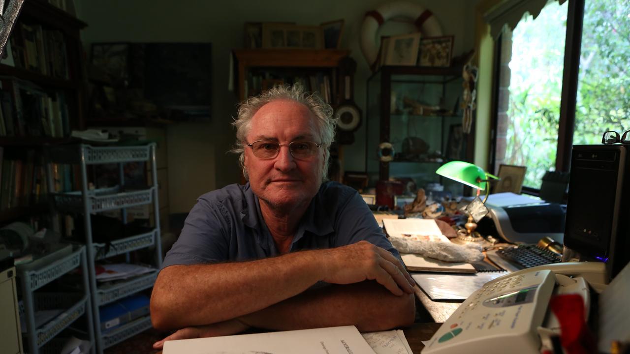 Naturalist Gary Opit. Photography David Kelly