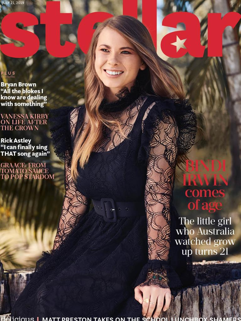 On the cover of Stellar magazine to celebrate her 21st.
