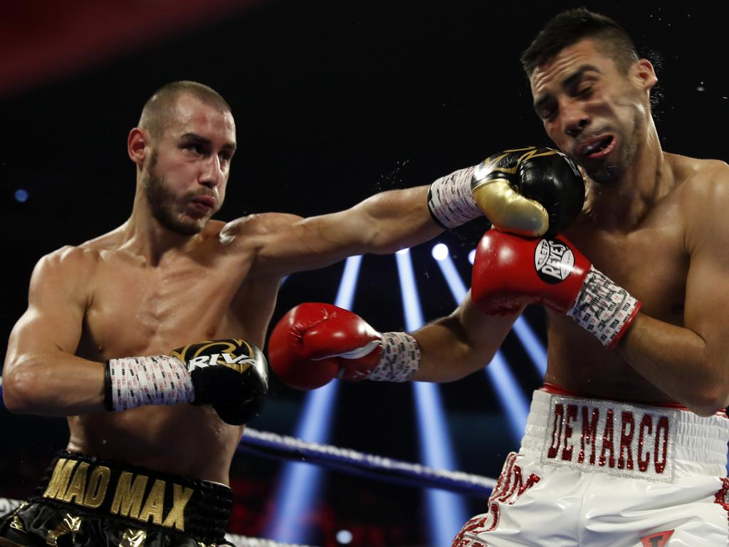 Dadashev (left) tragically lost his final fight.