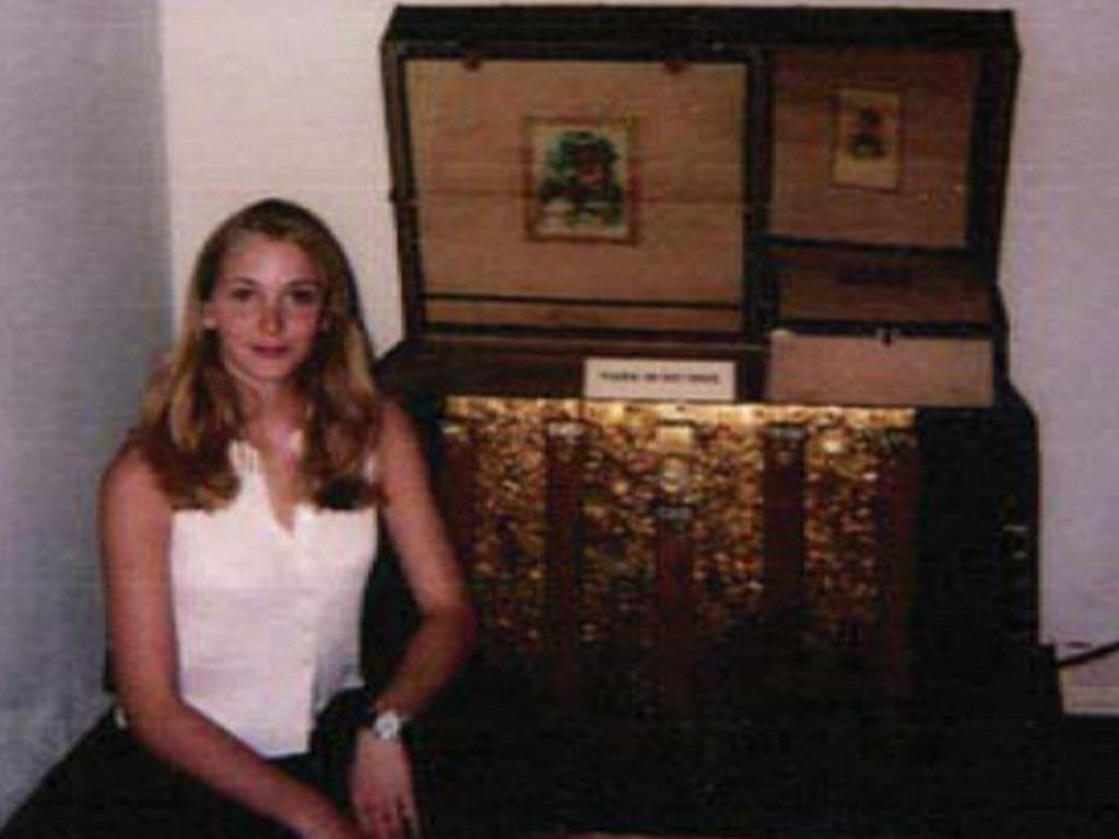 Roberts claims Epstein snapped this photo of her at a museum in New Mexico. Picture: US District Southern District of Florida