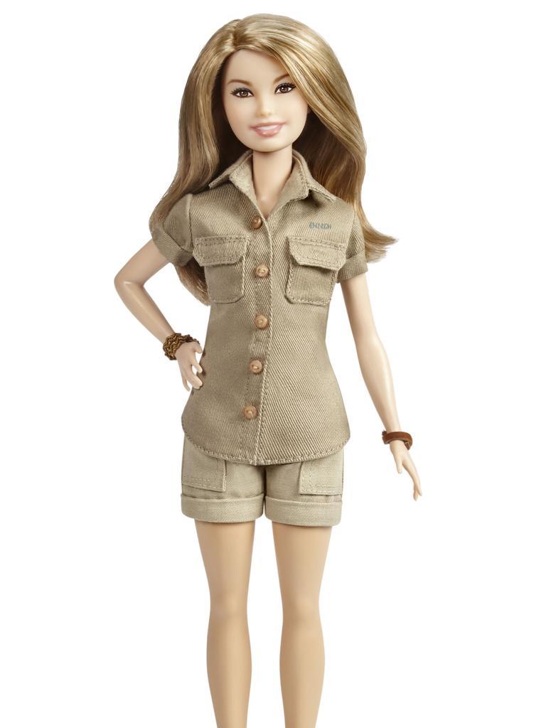 Bindi Barbie. Picture: Mattel
