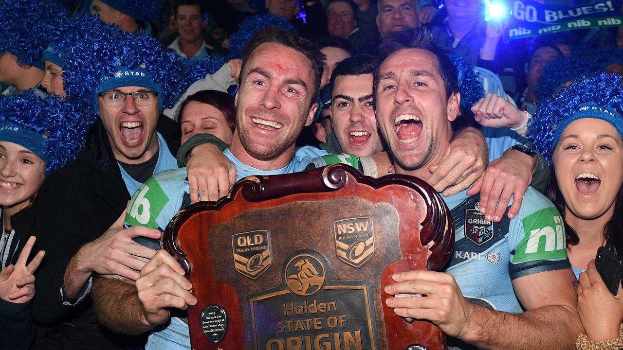 It's fitting he ended as a winner for NSW. Photo: AAP Image/Dan Himbrechts