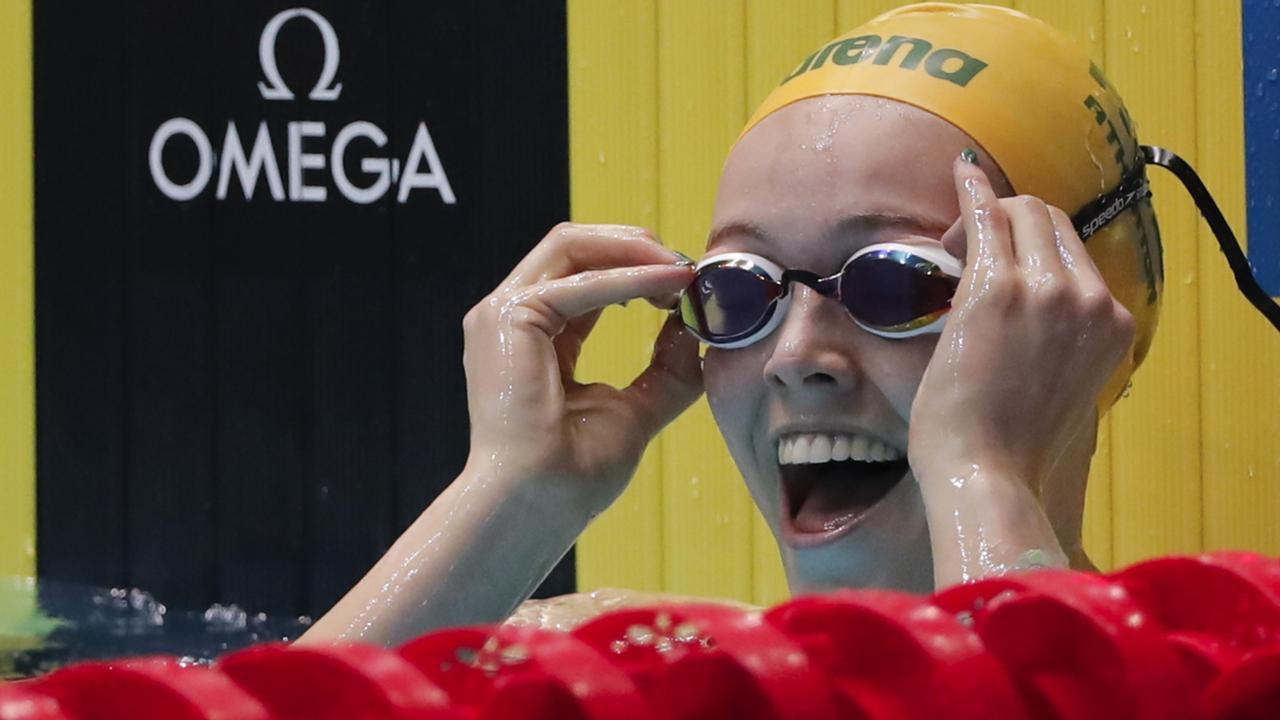 Minna Atherton is delighted with her silver medal-winning performance.