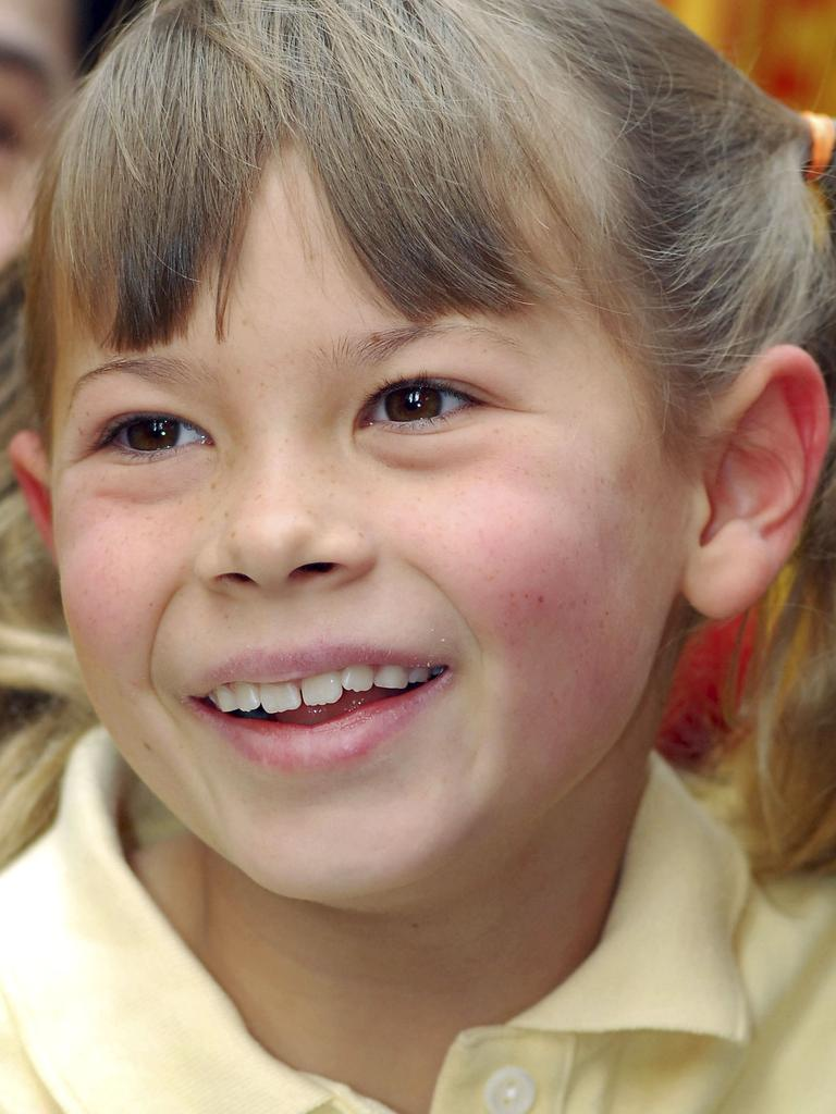 Bindi Irwin, pictured in New York in 2007. Picture: Getty Images