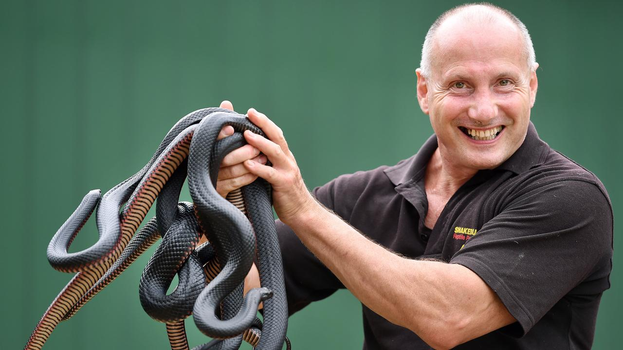 """Snakebusters' Raymond Hoser called Gatt's far-fetched story """"crap"""" in court. Picture: Steve Tanner"""