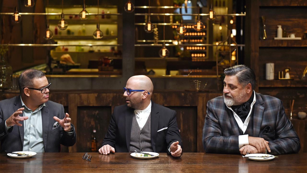 MasterChef judges Gary Mehigan, George Calombaris and Matt Preston. Picture: Martin Philbey